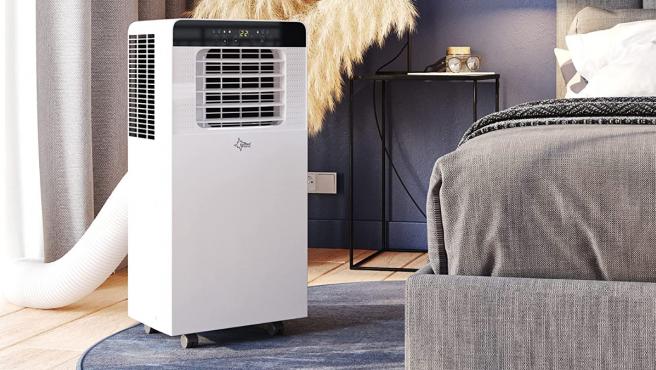 Los aires acondicionados portátiles son un buen método para deshacerse del calor.