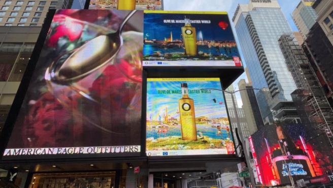 Promoción de aceite de oliva español en Estados Unidos