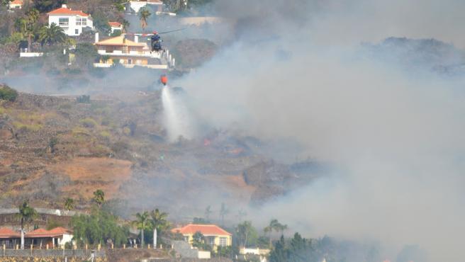 Imágenes del incendio en El Paso (La Palma).