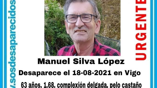 Buscan a un hombre de 63 años desaparecido desde el miércoles en Vigo