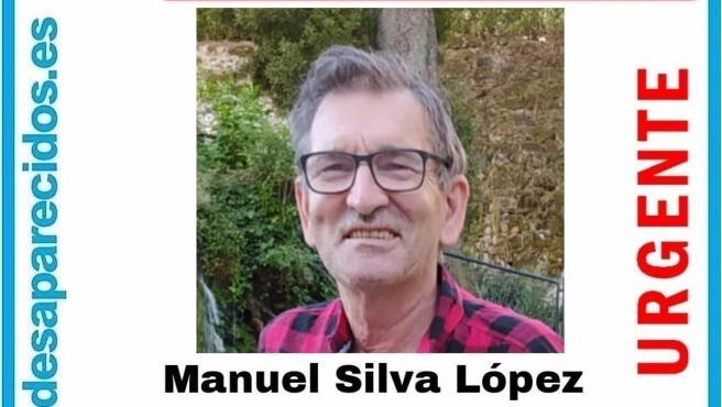 Imagen de Manuel Silva López, de 63 años, desaparecido desde este miércoles en Vigo.