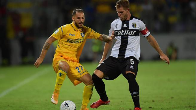 Partido entre Frosinone y Parma de Serie B