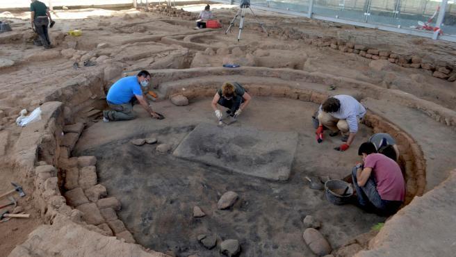 Las últimas excavaciones que se realizan en el Cerro de San Vicente de Salamanca.