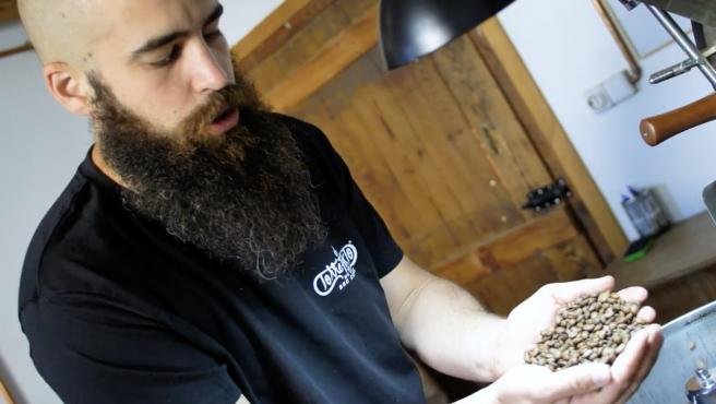 'Crowfunding' de San Jorge Coffee Roasters, la pyme de El Burgo de Ebro que crece el 400% durante la pandemia