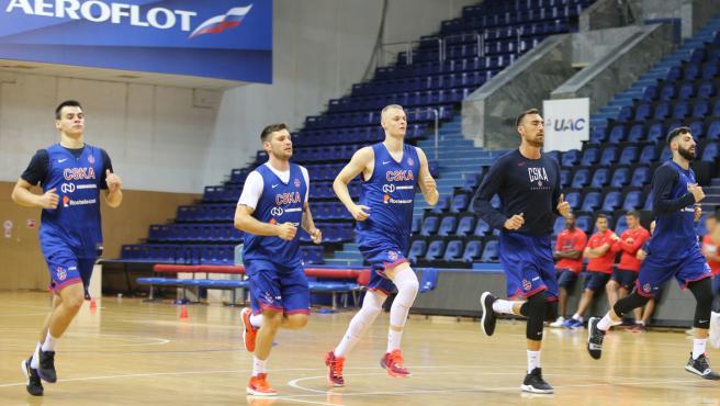 La plantilla del CSKA comienza su pretemporada.