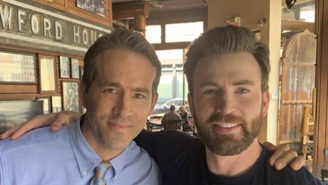 Ryan Reynolds y Chris Evans en 'Free Guy'