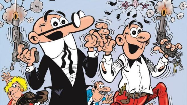 Los cómics de Ibáñez son una debilidad para Areces