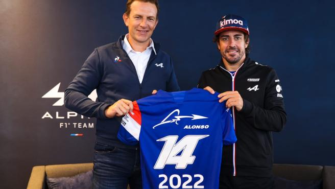 Fernando Alonso announces his renewal with Alpine.