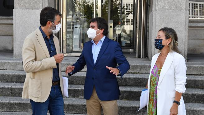 Ayuntamiento de A Coruña, Xunta y Autoridad Portuaria alcanzan un acuerdo sobre la compra de suelo en los muelles