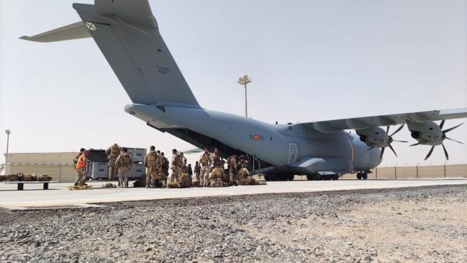 Concluye la misión en Kabul de evacuación de personas de Afganistán.