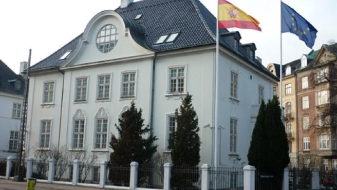 Embajada de España en Dinamarca.