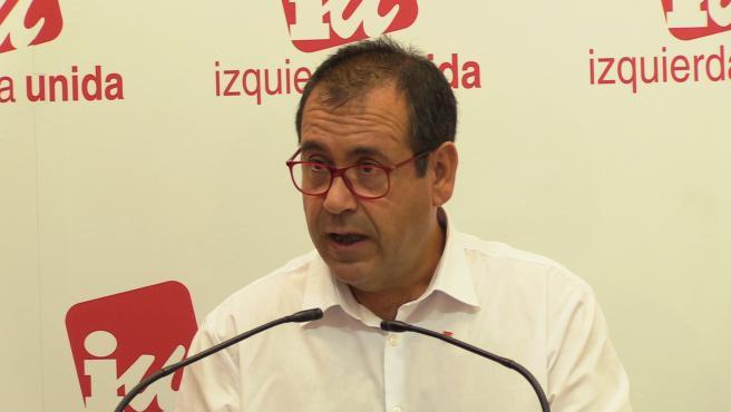 IU pide convocar con urgencia la Mesa Regional del Agua para que el PP explique su postura respecto del trasvase
