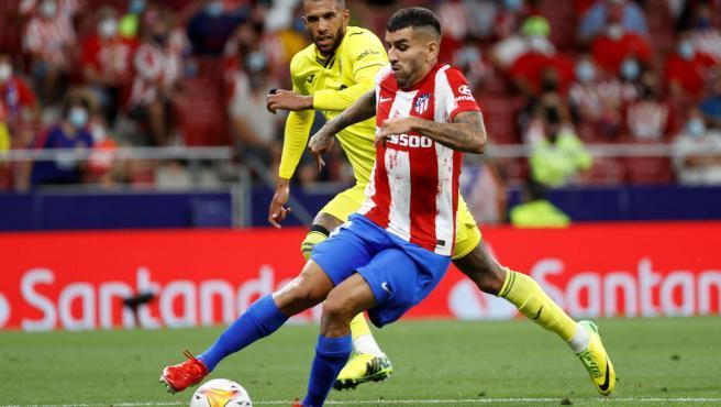 Correa, en el Atlético - Villarreal