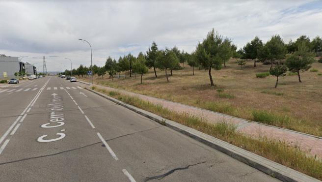 Imagen de la calle Cerro del Murmullo, en Vallecas (Madrid).