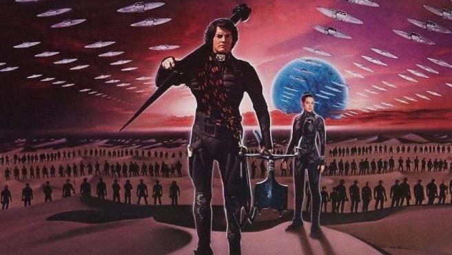 Detalle del póster de 'Dune' (David Lynch, 1984).