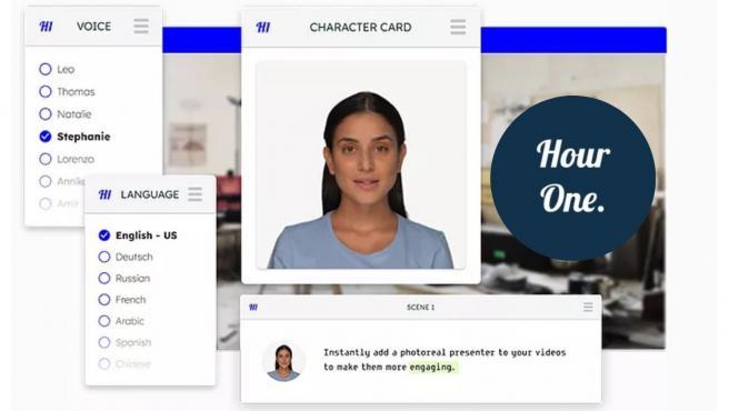 La empresa ha creado ya 100 personajes con dicha tecnología.