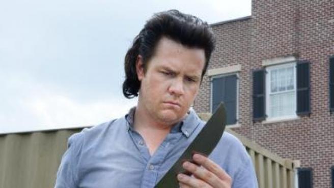 Josh McDermitt en 'The Walking Dead'