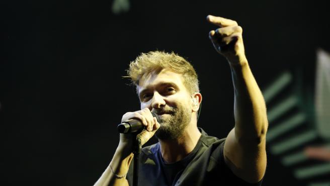 Pablo Alborán, en un concierto en Madrid.