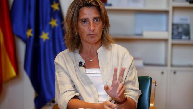 La vicepresidenta tercera y ministra para la Transición Ecológica, Teresa Ribera.