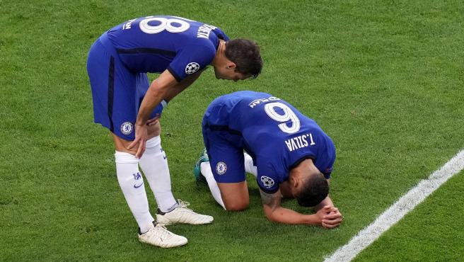 Thiago Silva, con el Chelsea