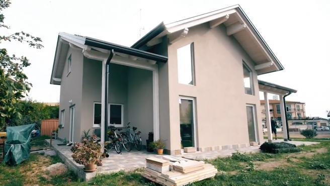 Una de las viviendas prefabricadas que cuestan menos de 60.000 euros.