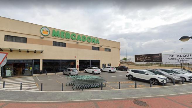 Imagen de un supermercado de la cadena Mercadona.