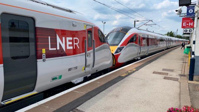 Imagen de archivo de un tren.