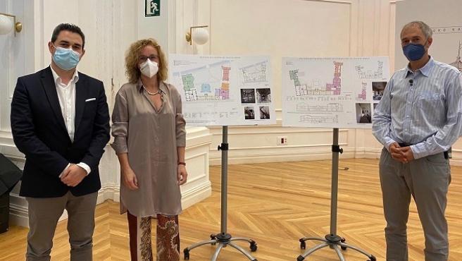 La Diputación Foral invertirá más de tres millones de euros en restaurar el Palacio Lamuza de Llodio