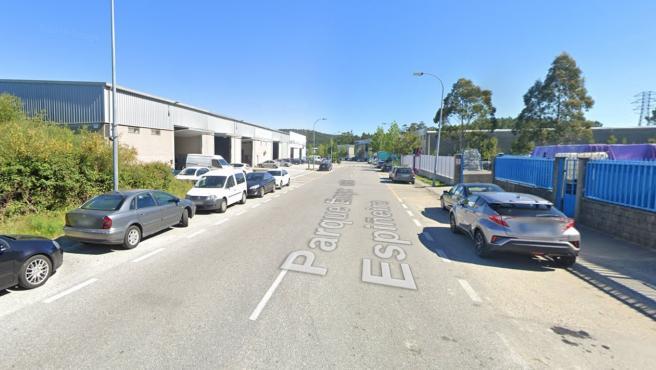 Industrijska imanja na području gdje se dogodila nesreća.