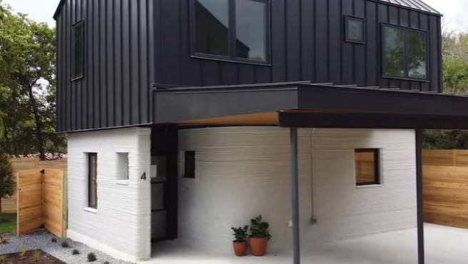 Casa construida con una impresora 3D.