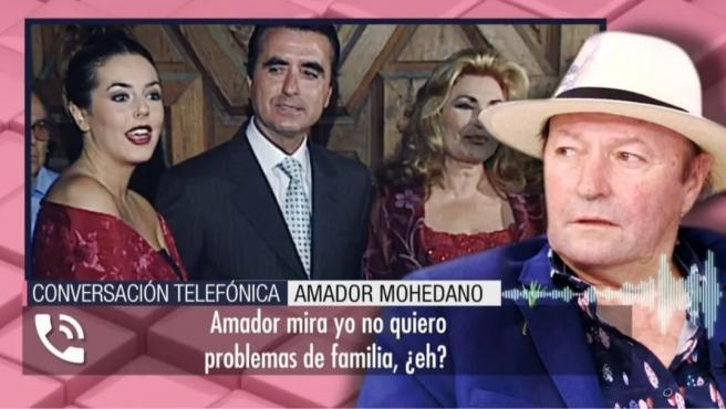 Amador Mohedano habla de la herencia de Rocío Jurado.