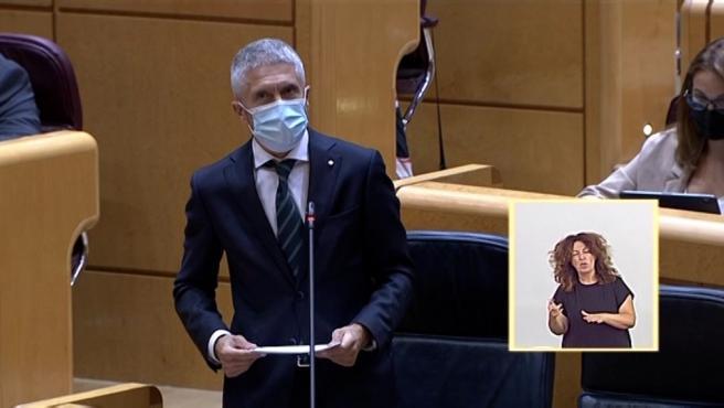 """Marlaska dice que el nuevo reglamento contra homenajes de ETA está """"avanzado"""""""