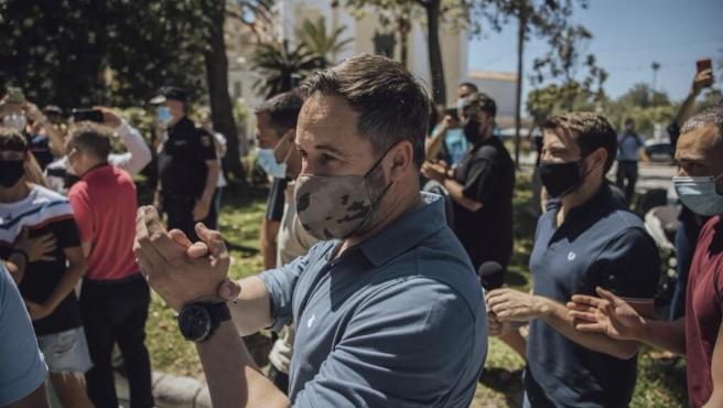 """Santiago Abascal estará en Arrasate (Gipuzkoa) este sábado para """"arropar"""" a las víctimas de Parot"""