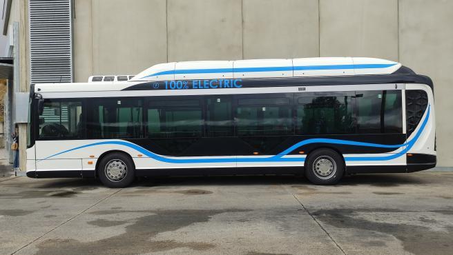 Segovia pone en circulación a modo de prueba un nuevo autobús 100% eléctrico