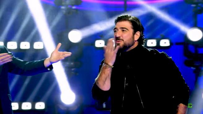 Antonio Orozco, en 'Veo cómo cantas'.