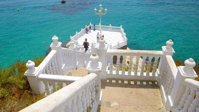 Balcón del Mediterráneo en Benidor.