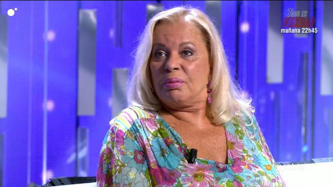 Bárbara Rey, en 'Secret Story: cuenta atrás'.