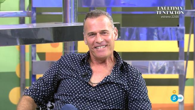 Carlos Lozano en 'Sálvame'.