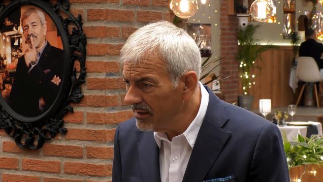 Carlos Sobera, en 'First dates'.