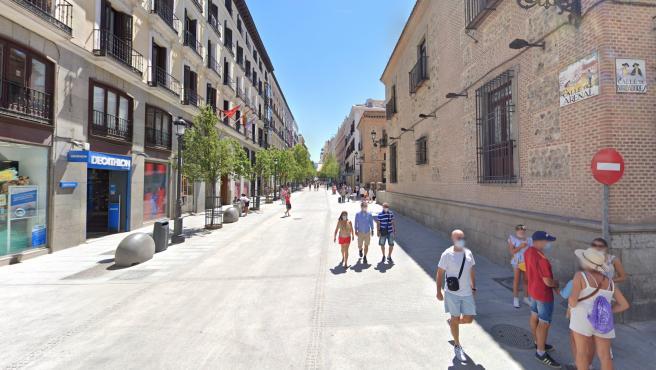 Google Maps en Madrid.