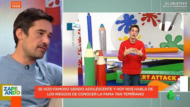 Jordi Cruz, en 'Zapeando'.