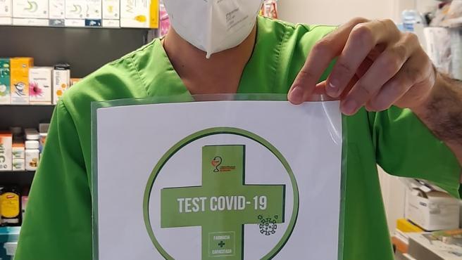 Las farmacias aragonesas emiten más de 4.300 Certificados COVID europeos