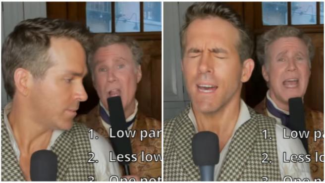 Ryan Reynolds y Will Ferrell