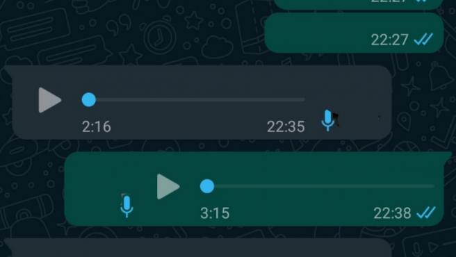 WhatsApp está trabajando en la posibilidad de transcribir los audios a texto.