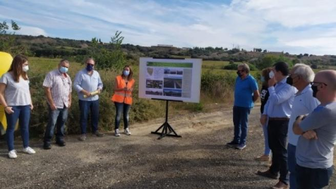 Finalizadas las obras de mejora en la carretera A-1226 entre Fornillos y Berbegal, en Huesca