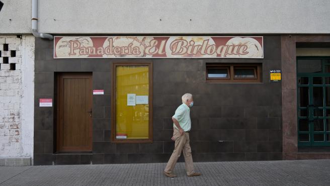 A Coruña  Crimen violencia de género en el 5°B del bloque 5 de la calle Juan de Arriba en el barrio del Birloque Panadería El Birloque donde trabajaba la víctima Mónica Marcos 16/09/2021 Foro: M. Dylan/ Europa Pres