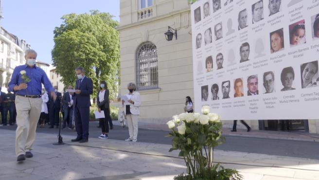 Acto de reconocimiento a las víctimas de Parot en Vitoria (Álava)