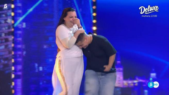 Final de la actuación más emotiva de 'Got Talent'.