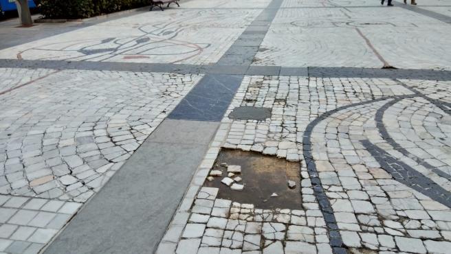 Vox lamenta que Cuesta se escude en los técnicos para no arreglar el Paseo de los Álamos hasta 2023