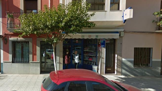 Despacho receptor de Loterías en Villarreal.